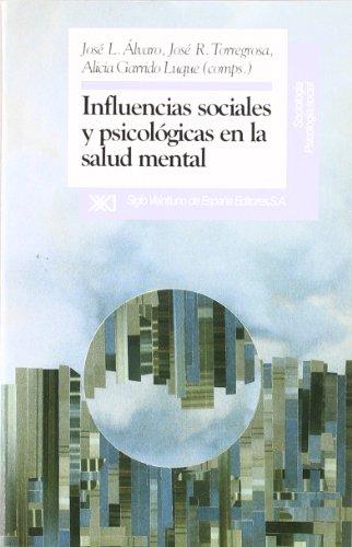 9788432307560: Influencias sociales y psicologicas en la salud mental (Spanish Edition)
