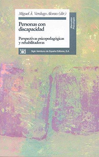 9788432308673: Personas con discapacidad, perspectivas psicopedagogicas y rehabilitadoras (Spanish Edition)