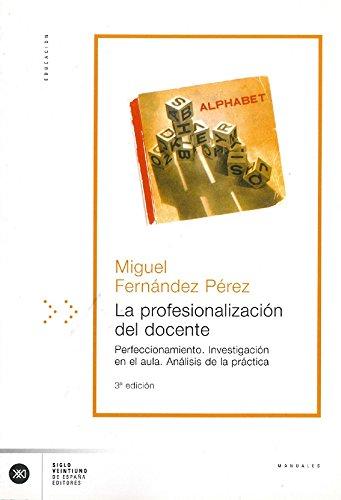 9788432308727: La Profesionalizacion del Docente