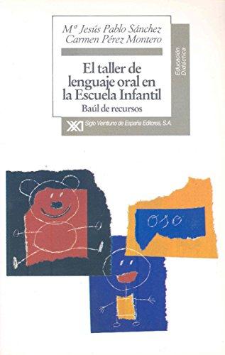 El taller de lenguaje oral en la: María Jesús Pablo