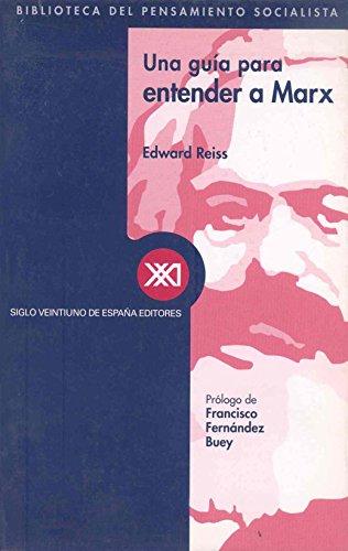 9788432310331: Una guía para entender a Marx (Biblioteca del pensamiento socialista)
