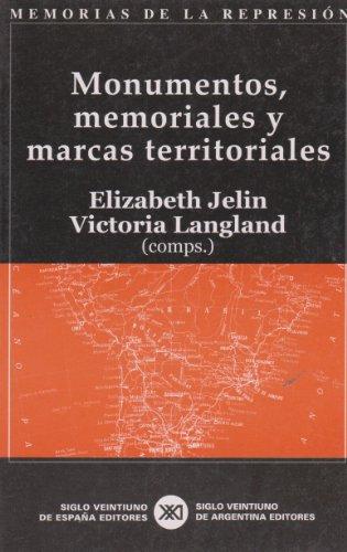 9788432311321: Monumentos, memoriales y marcas territoriales (Spanish Edition)