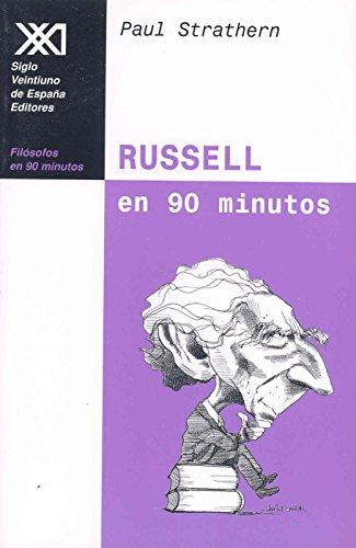 9788432311468: Russell en 90 minutos: (1872-1979)