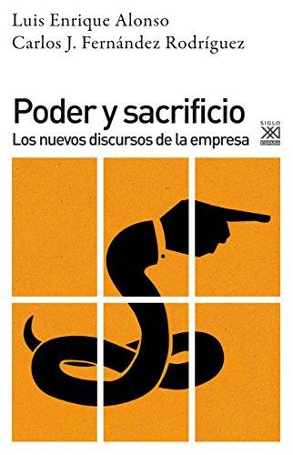 PODER Y SACRIFICIO: Alonso Benito, Luis