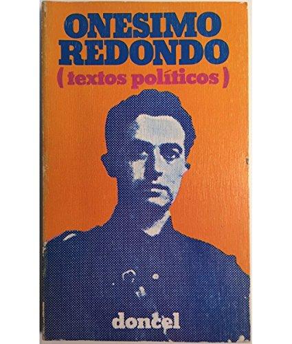 9788432505270: Onésimo Redondo: Textos políticos (El Libro de bolsillo Doncel ; 77) (Spanish Edition)