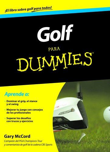 9788432900549: Golf para Dummies