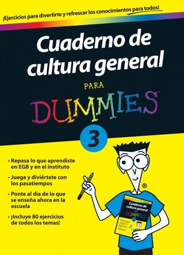 9788432900723: Cuaderno de cultura general para Dummies 3