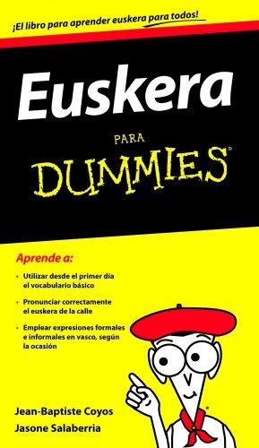 Euskera para Dummies: Jasone Salaberria Fuldain Jean-Baptiste Coyos