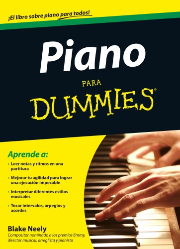 9788432900785: Piano para Dummies