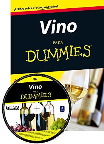 9788432901263: Pack Vino para Dummies + DVD
