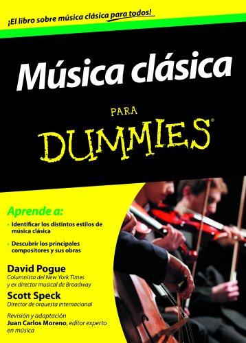 9788432901539: Música clásica para Dummies