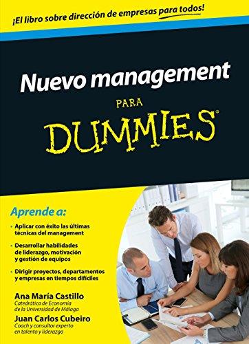 9788432902482: Nuevo management para Dummies