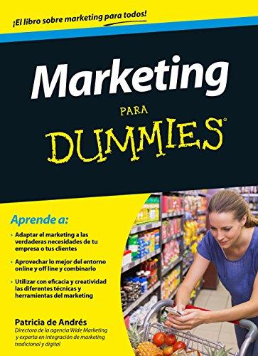 Marketing para Dummies: Andrés, Patricia de