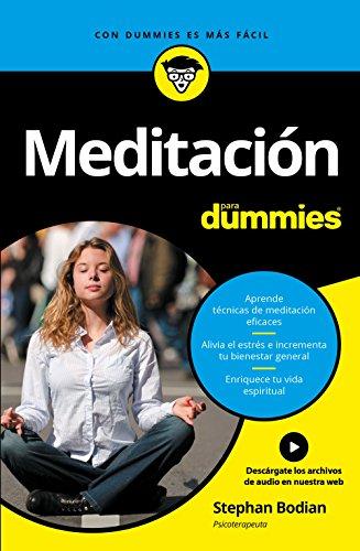 9788432903250: Meditación para Dummies