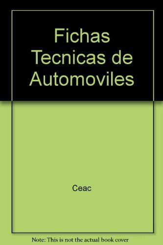 9788432911460: Fichas Tecnicas de Automoviles (Spanish Edition)