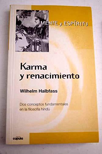 9788432912436: Karma Y Renacimiento