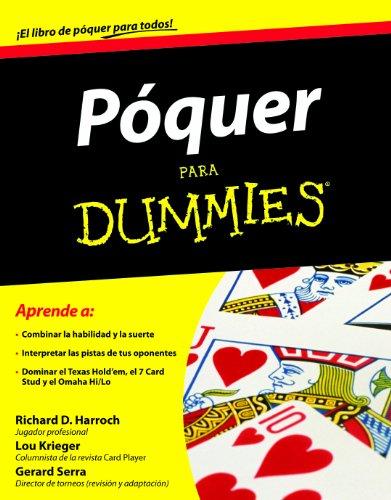 9788432920820: Poquer para dummies