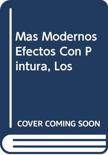 Mas Modernos Efectos Con Pintura, Los (Spanish Edition) (8432924180) by Annie Sloan