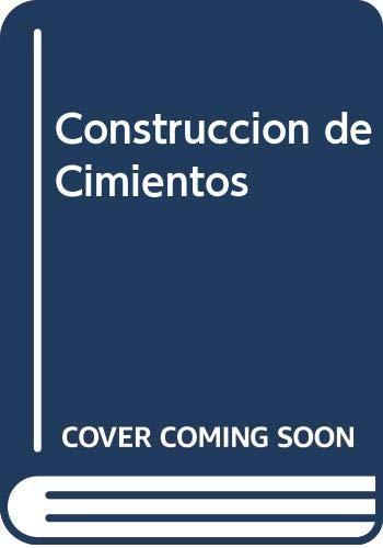 Construccion de Cimientos: Angel Hidalgo Bahamontes