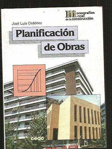 Planificacion de obras: José Luis Ordoñez