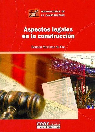 9788432930591: Aspectos legales en la construcción