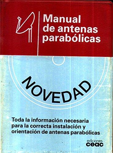 9788432963216: Manual de antenas parabolicas