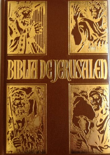 9788433000224: Biblia de Jerusalen (Spanish Edition)