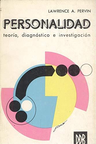 9788433004017: Personalidad: teoría, diagnóstico e investigación (Biblioteca de psicología)