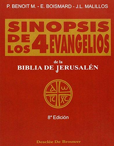 9788433005175: Sinopsis de los cuatro evangelios - vol. 1 (Biblia de Jerusalén)