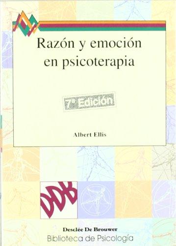 9788433005557: Razón Y Emoción En Psicoterapia-Cosido (Biblioteca de Psicología)