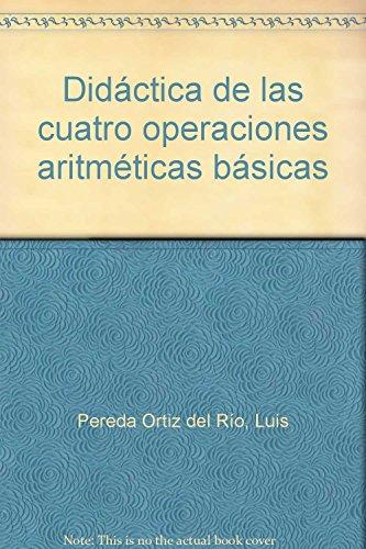 9788433006554: Didáctica de las cuatro operaciones matemáticas (Magisterio Derio)
