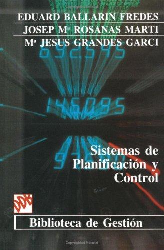 9788433006868: Sistemas De Planificación Y Control (Biblioteca de Gestión)