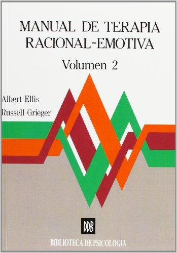 9788433008244: Manual de terapia racional emotiva - vol.2 (Biblioteca de Psicología)