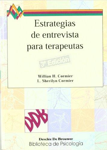 9788433010216: Estrategias De Entrevista Para Terapeutas (Spanish Edition)