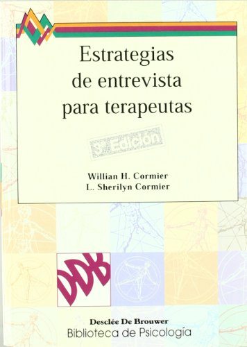 9788433010216: Estrategias De Entrevista Para Terapeutas (Biblioteca de Psicología)