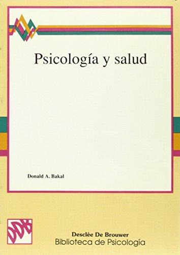 9788433011367: Psicología y salud