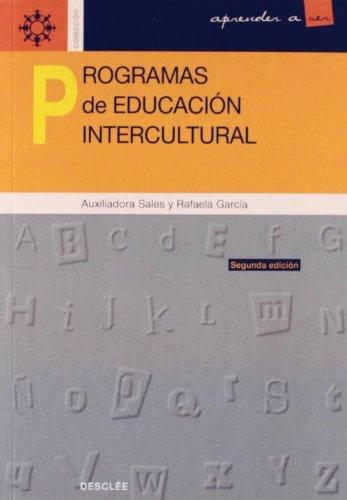 9788433012586: Programas De Educación Intercultural (Spanish Edition)
