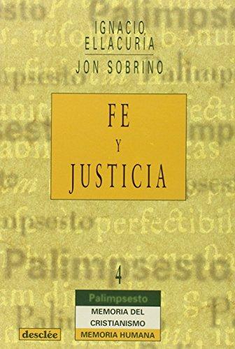 9788433014252: Fe Y Justicia