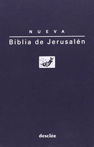 BIBLIA DE JERUSALÉN DE BOLSILLO MODELO 1.: ESCUELA BÍBLICA DE