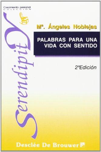 9788433014887: Palabras para Una Vida Con Sentido (Spanish Edition)