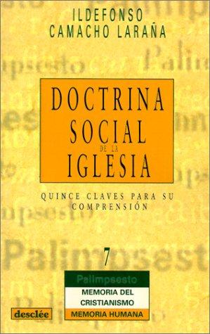 9788433014993: Doctrina Social De La Iglesia (Palimsesto)