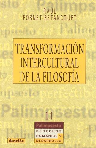 9788433015679: Transformación intercultural de la filosofía (Palimsesto)