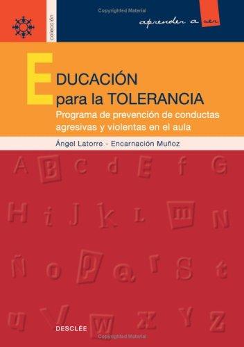 9788433016454: Educación Para La Tolerancia (Aprender a ser)