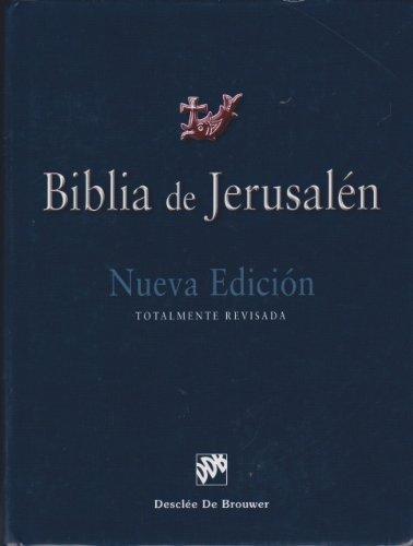 9788433023223: Biblia de Jerusalén: 4ª edición Manual totalmente revisada - Modelo 1 (Spanish Edition)