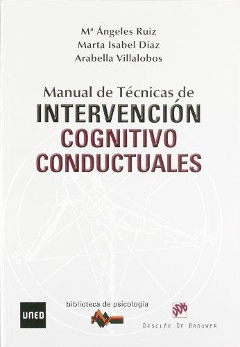 9788433025357: MANUAL DE TECNICAS DE INTERVENCION COGNITIVO CONDUCTUALES