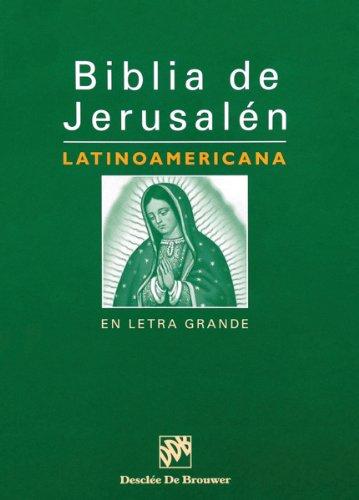 Biblia de Jerusalen Latinoamericana-OS-En Letra Grande (Hardcover)