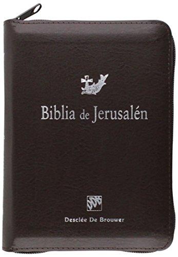 Biblia de Jerusalén de bolsillo con cremallera: Escuela Bíblica Arqueológica