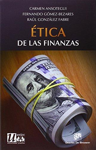 Etica de las finanzas: Carmen Ansótegui -