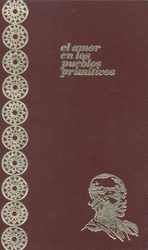 9788433203090: EL AMOR EN LOS PUEBLOS PRIMITIVOS