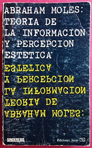 9788433402172: Teoria de la informacion y percepcion estetica